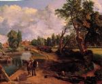 john constable art - flatford mill by john constable