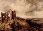 john constable art - hadleigh castle by john constable
