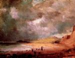 weymouth bay by john constable painting