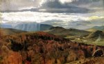 john george brown art - autumn landscape by john george brown