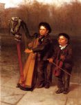 the little strollers by john george brown posters
