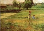john ottis adams art - summertime 1890 by john ottis adams