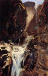 john singer sargent a waterfall painting