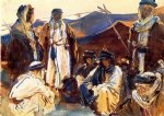 john singer sargent acrylic paintings - bedouin camp by john singer sargent
