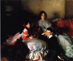 children acrylic paintings - essie ruby and ferdinand children of asher wertheimer by john singer sargent