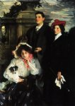 john singer sargent acrylic paintings - hylda almina and conway children of asher wertheimer by john singer sargent