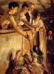 john singer sargent acrylic paintings - marionettes by john singer sargent