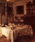 john singer sargent my dining room painting