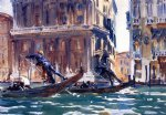 john singer sargent on the canal painting