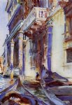 john singer sargent on the grand canal painting