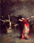 spanish art - study for the spanish dance by john singer sargent