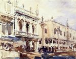john singer sargent the piazzetta and the doge s palace paintings