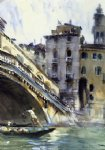 john singer sargent the rialto venice painting