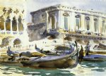 venice the prison by john singer sargent painting