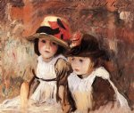 village children by john singer sargent painting