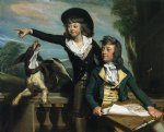 western art - charles callis western and his brother shirley western by john singleton copley