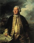 john singleton copley print - clark gayton admiral of the white by john singleton copley