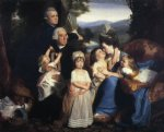 john singleton copley the copley family painting