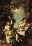 john singleton copley the three youngest daughters of george iii painting