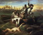 framed acrylic paintings - watson and the shark by john singleton copley