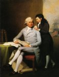 jeremiah wadsworth and his son daniel wadsworth by john trumbull famous paintings