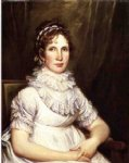 portrait of mrs. isaac bronson nee anna olcott by john trumbull painting