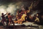 the death of general montgomery in the attack on quebec december 31 1775 by john trumbull famous paintings