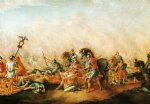 the death of paulus aemilius at the battle of cannae by john trumbull famous paintings