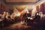 the declaration of independence july 4 1776 by john trumbull famous paintings