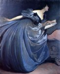 john white alexander art - althea by john white alexander