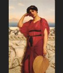 john william godward a classical lady painting 77164