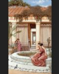 john william godward famous paintings - innocent amusements by john william godward