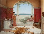 john william godward the sweet siesta of a summer day painting 84255