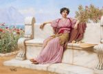 tranquillity by john william godward painting