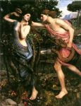 john william waterhouse apollo and daphne art