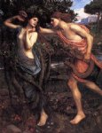john william waterhouse apollo and daphne painting-29952