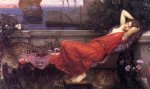 water oil paintings - ariadne by john william waterhouse