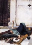john william waterhouse donce far niente painting-29961