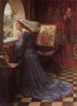 john william waterhouse fair rosamund painting-29965