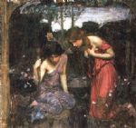 john william waterhouse nymphs finding the head of orpheus prints