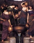 replica acrylic paintings - the danaides by john william waterhouse
