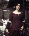 john william waterhouse the lady clare painting