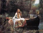 john william waterhouse the lady of shalott painting