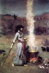 john william waterhouse the magic circle painting