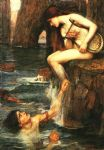 john william waterhouse the siren painting