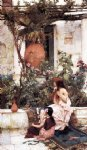 waterhouse famous paintings - the toilet by john william waterhouse