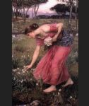 john william waterhouse waterhouse narcissus painting