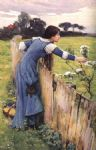 john william waterhouse waterhouse the flower picker painting