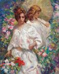 el paseo 2 by jose royo painting