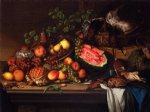 joseph biays ord art - still life with fruit and game by joseph biays ord